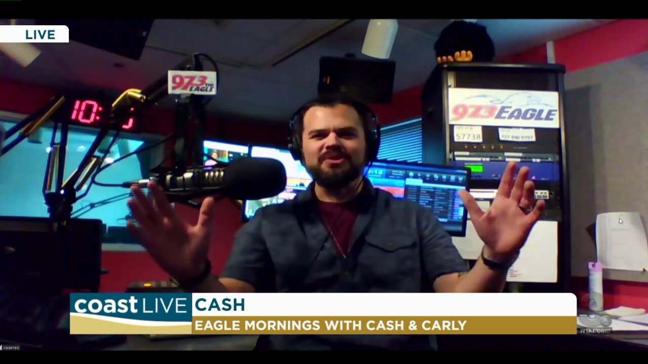Country music news with Cash from 97.3 The Eagle on Coast Live