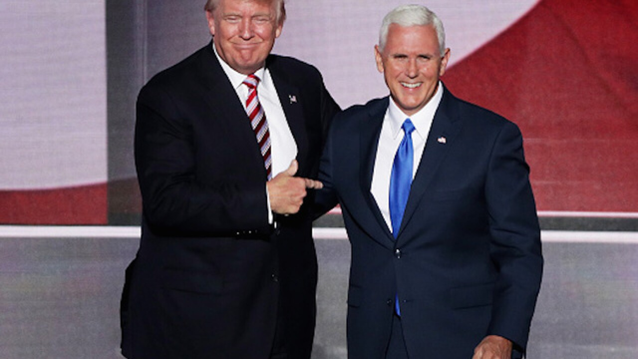 Delegates say Mike Pence has the right stuff