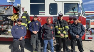 Town of Sheboygan firefighters