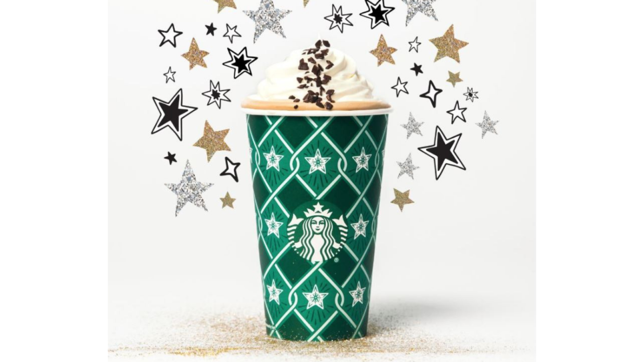 Starbucks brings back Black and White Mocha collection for the New Year