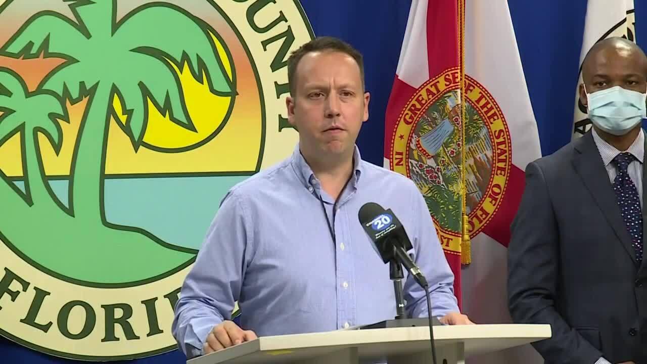 Palm Beach County Mayor Dave Kerner, July 24, 2020