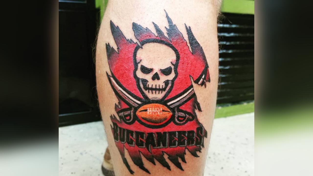 Bucs tattoo