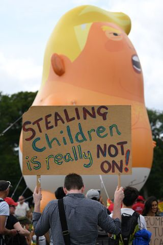 Photos: Scotland protests President Donald Trump's visit