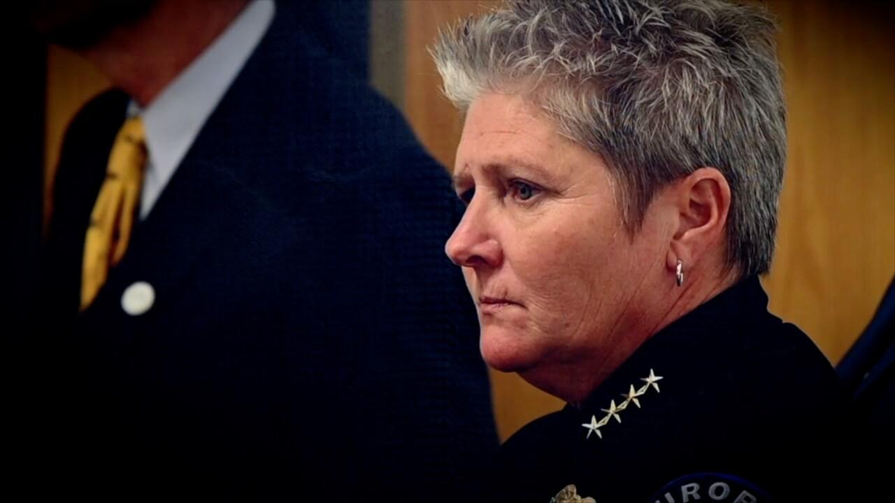 Aurora Police Chief Vanessa Wilson