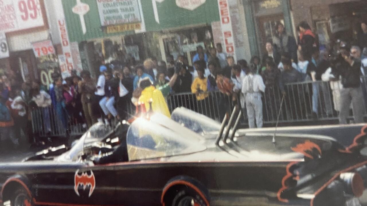 MLK Parade Bat car