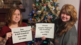 Lake County family juggles appointments, treatments while sisters battle their own rare diseases