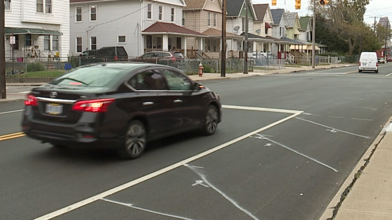 CLE homeowners concerned with incomplete road safety lines