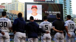 Tyler Skaggs to be honored before first pitch in Angels-Rangers game