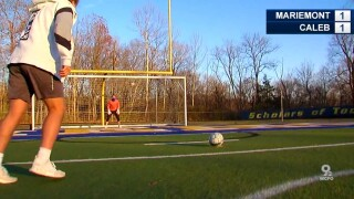 Sports Anchor Caleb Noe challenges Mariemont state champs to a soccer shootout.jpg