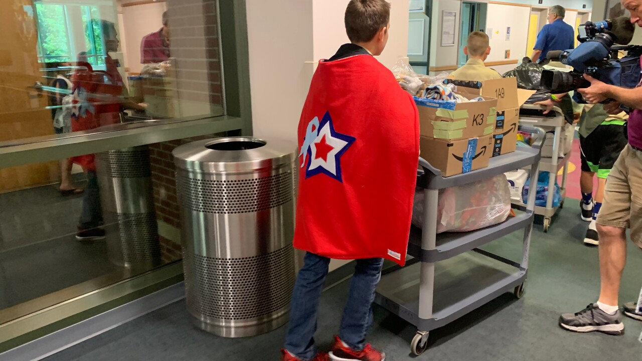 Akron Children's Hospital capes