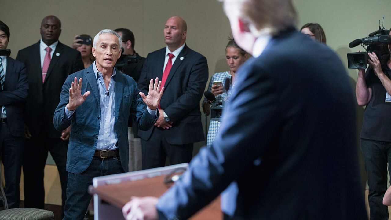 Univision says Jorge Ramos and 5 other staffers have been detained in Venezuela
