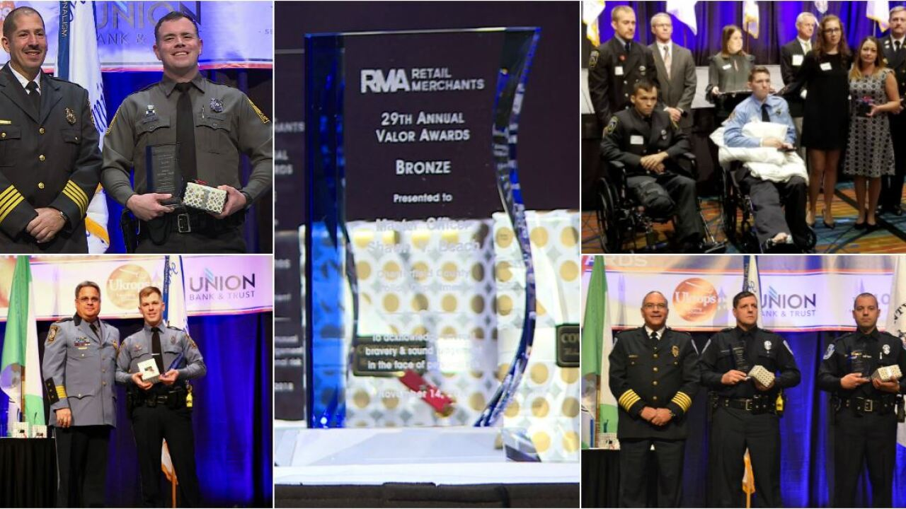 These heroes honored for risking their lives to save others