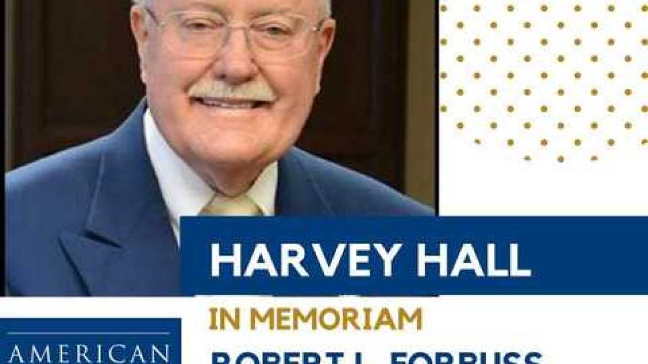 Harvey Hall given lifetime achievement award