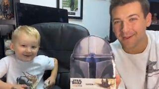 Brad Galli Matthew Star Wars Mandalorian cards