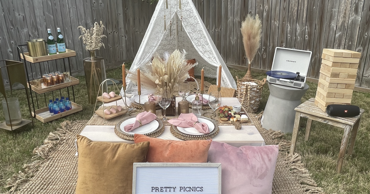 Pandemic-inspired luxury picnics are a booming business for a Corpus Christi woman