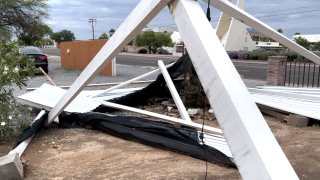 Monsoon brings more destruction to Tucson
