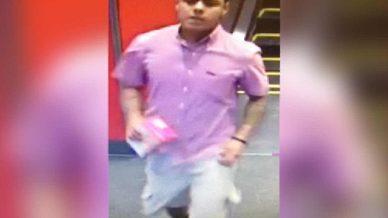 Police hoping someone will recognize man wanted for upskirting at Denver Target store