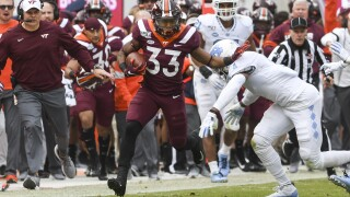 Hokies' Deshawn McClease, Oscar Smith High School alumnus, announces he's leaving for NFL Draft