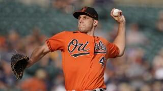 John Means Orioles Tigers Baseball