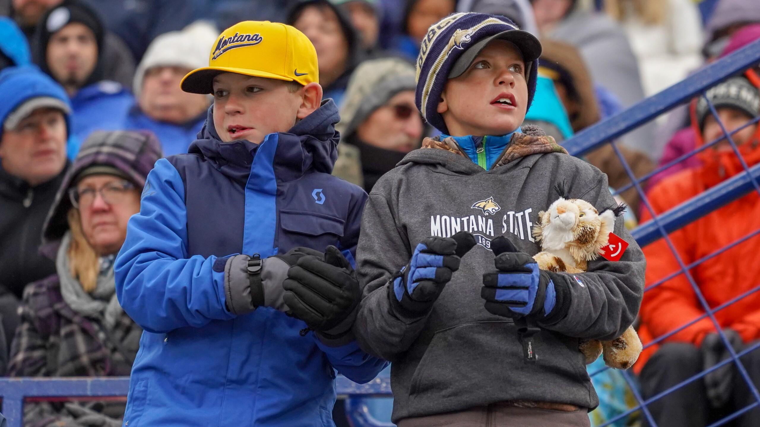 Montana State Bobcat football fans