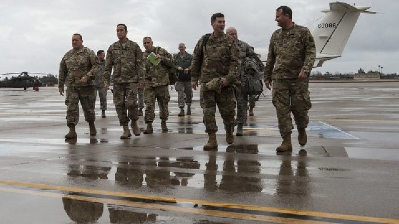 National Guard troops involved in 1,600 apprehensions at Mexican border