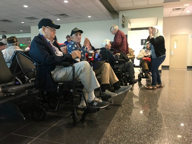 PHOTOS: San Diego military veterans go on Honor Flight
