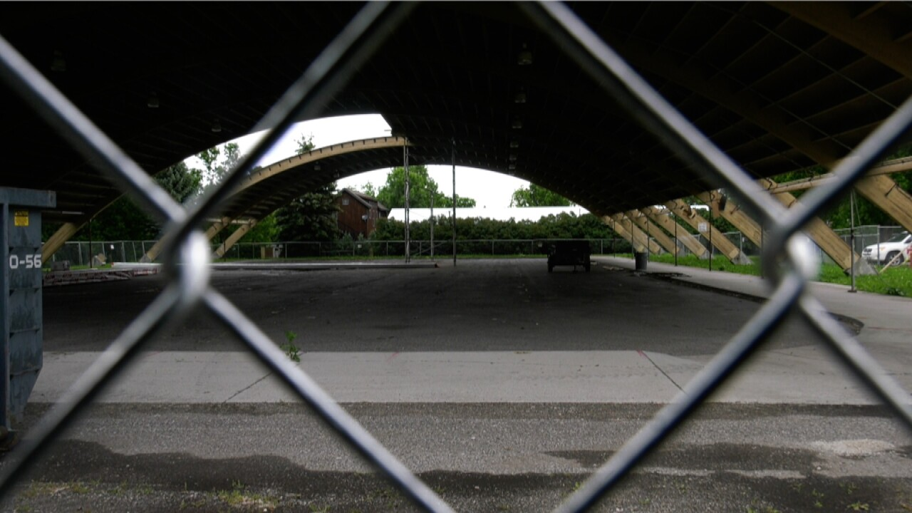 Renovation for damaged Bogert Park pavilion shell scheduled to begin in July