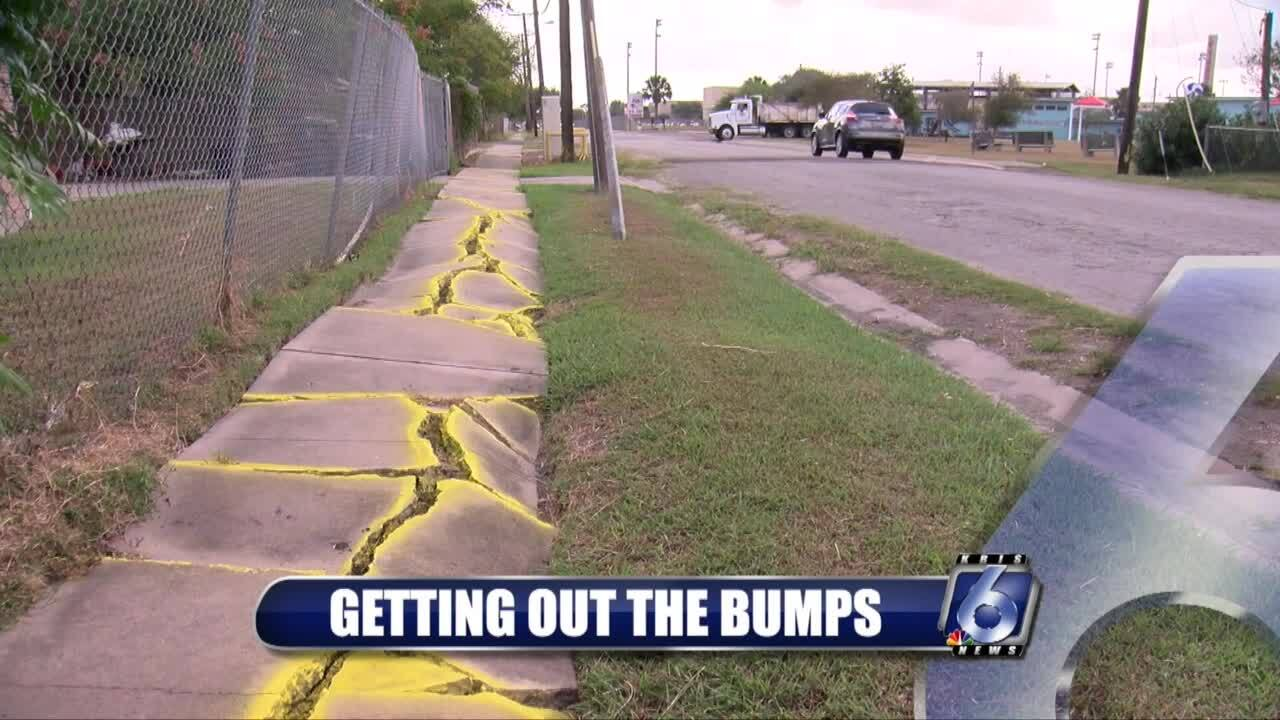 The ride along Swantner Drive soon will become smoother
