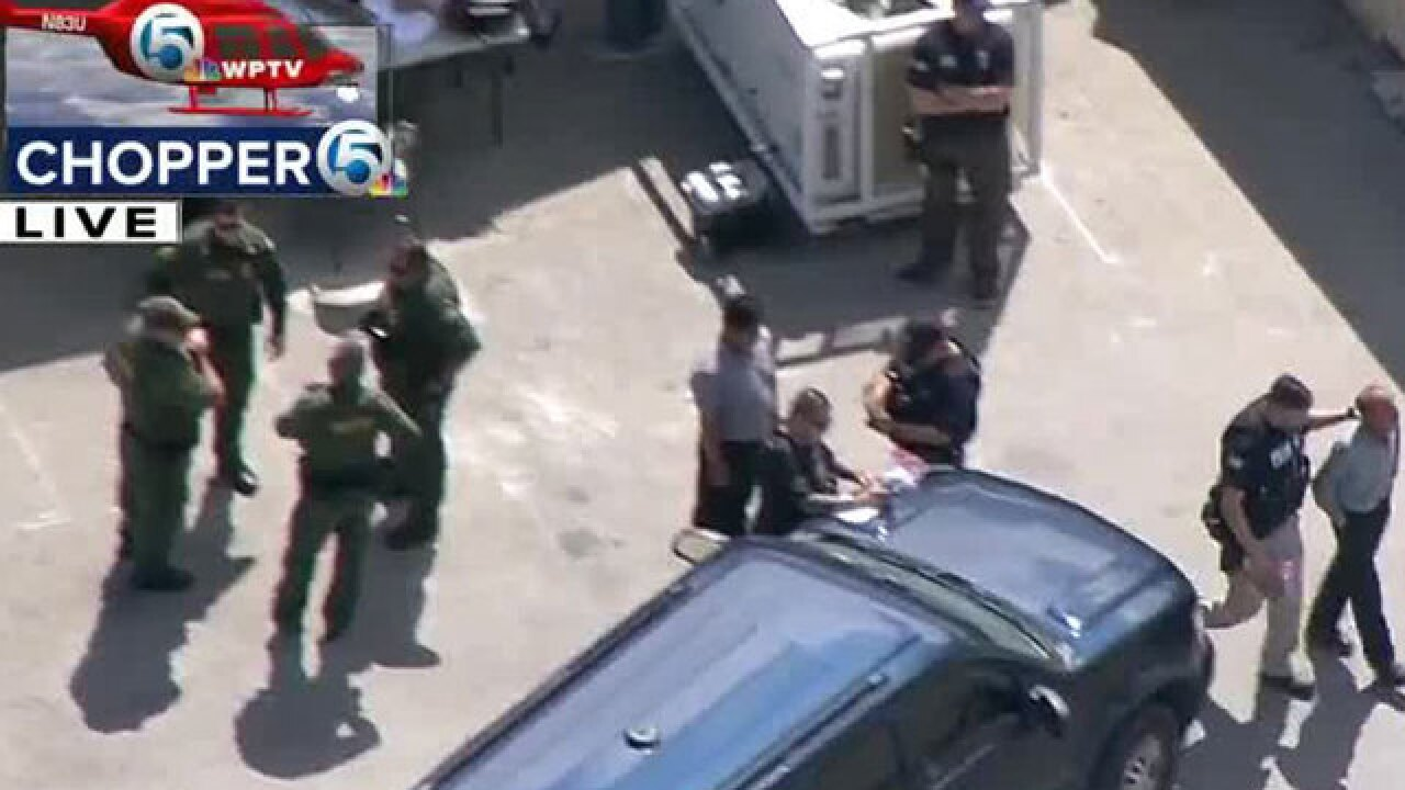 Homeland Security searching Fort Pierce business
