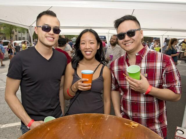 KungFood Chu's AmerAsia hosts Beer-Lingual block party