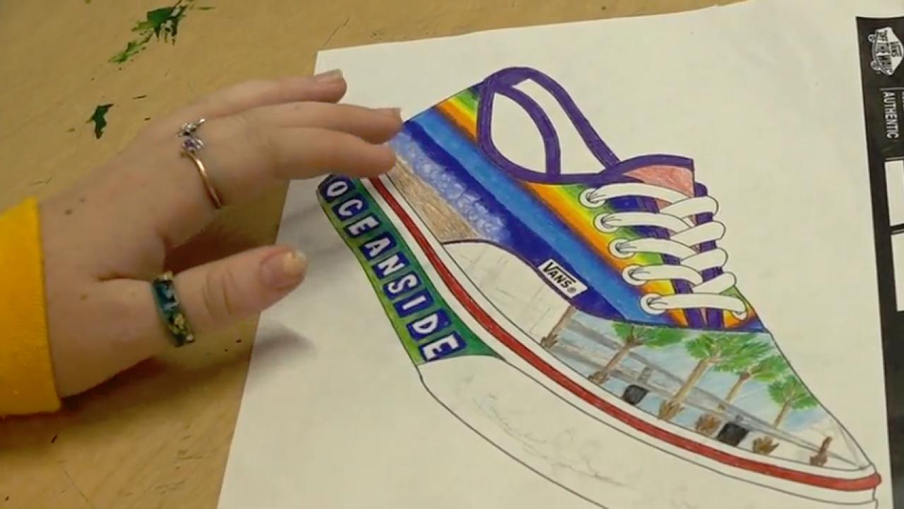 Vans Shoe Art Designs