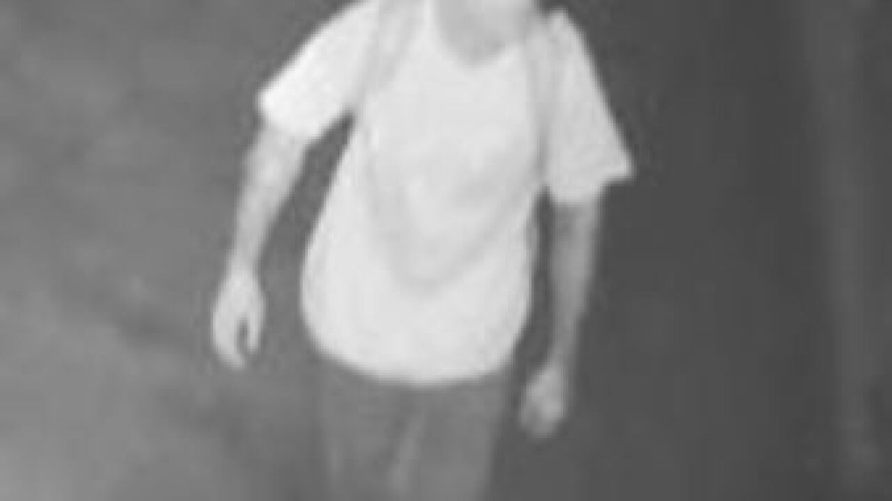 Man wanted for burglary at elementary school