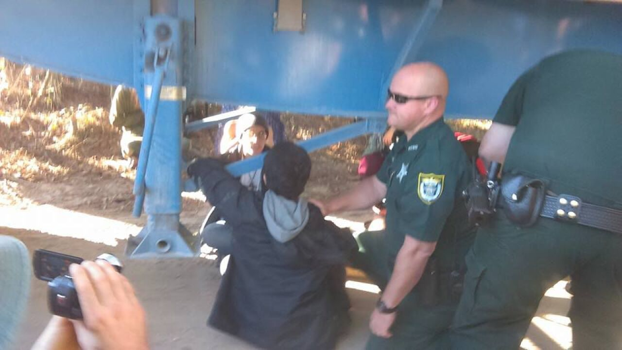 Sabal Trail Pipeline Protesters Arrested at Suwannee River State Park