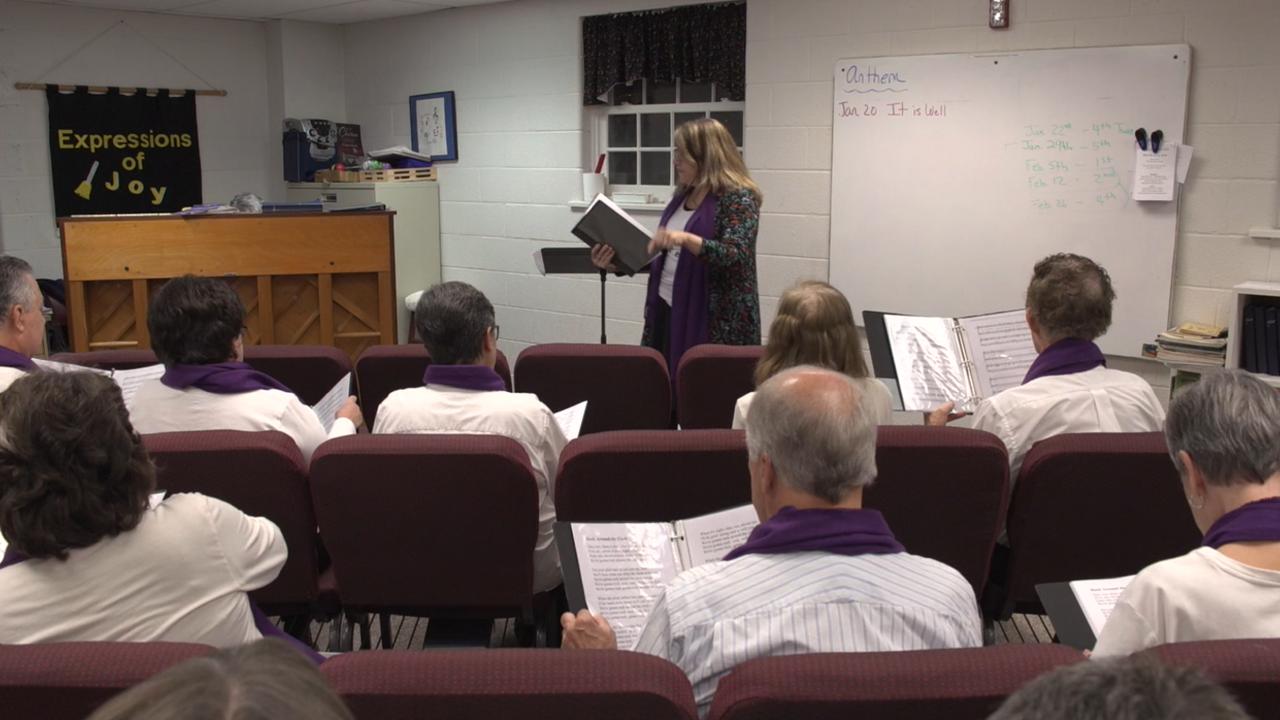 Unique choir helps dementia, Alzheimer's patients create music