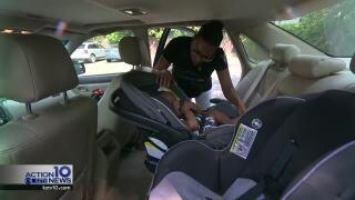 Free car seat inspection event set for tomorrow