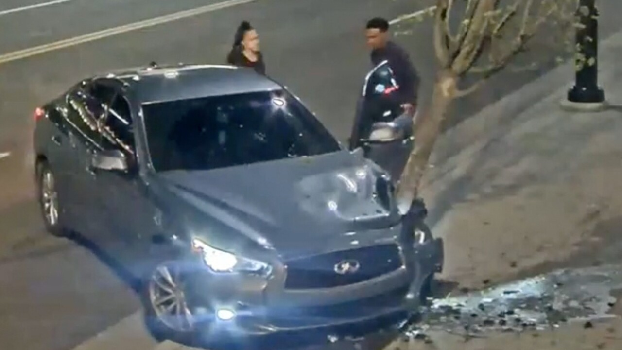 Police Search For Downtown Hit & Run Suspects
