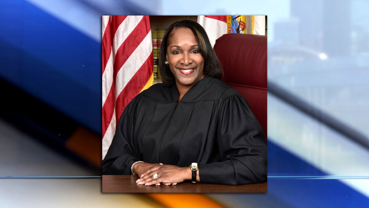 Image result for FLORIDA JUDGE VEGINA T. HAWKINS