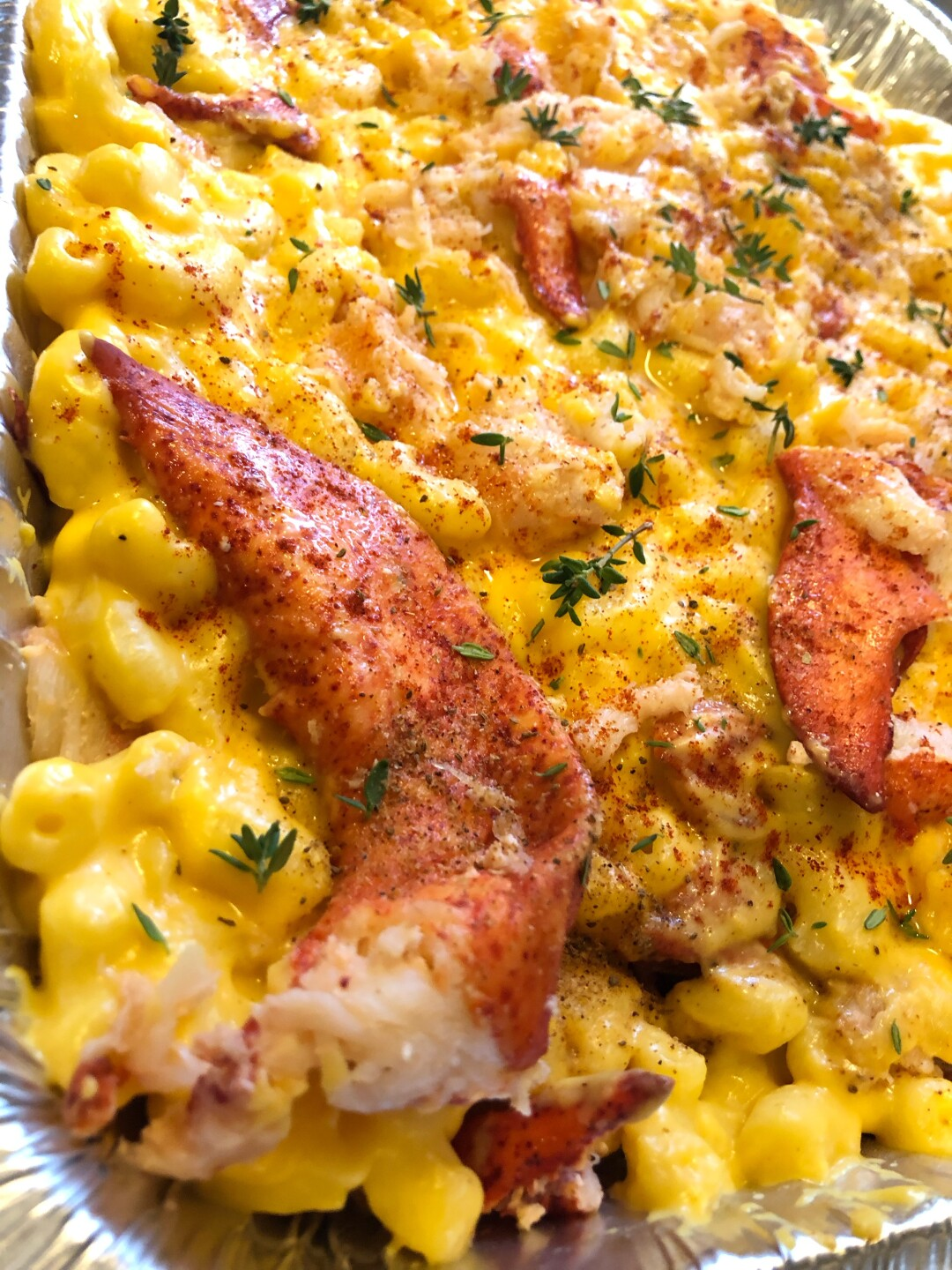 The Lobster Food Truck's Mac and Cheese