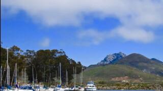 Morro Bay Marina Clouds