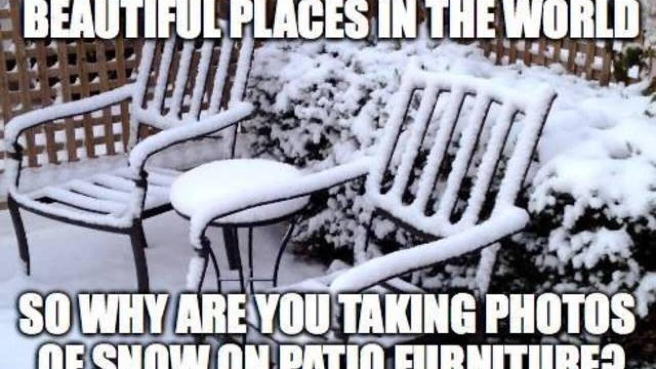Memes about Colorado's cold snap