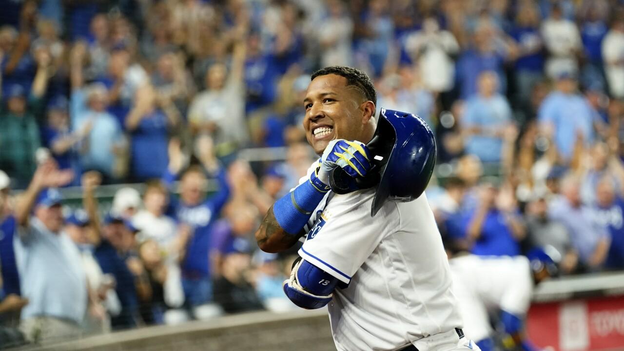 APTOPIX Indians Royals Baseball