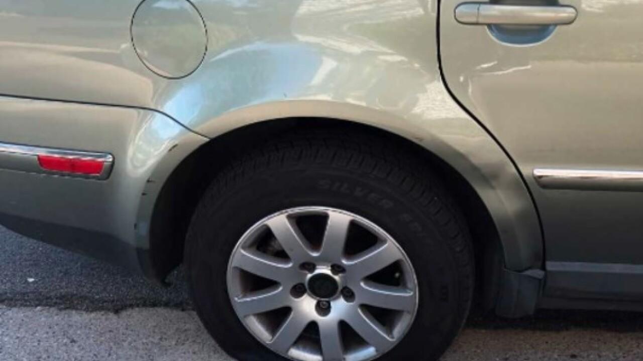 Escondido Residents Wake Up To Dozens Of Slashed Tires