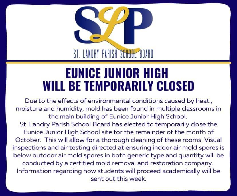 Eunice Junior High mold closure.jpg