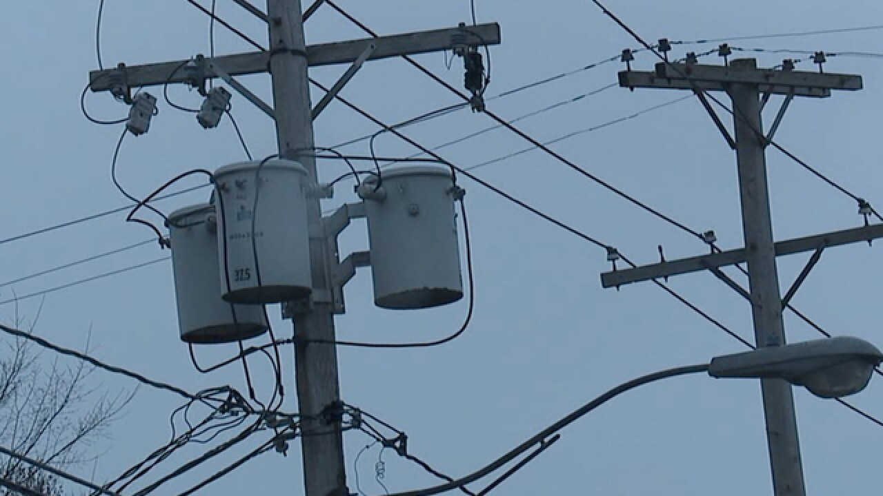 Cleveland officials hold news conference regarding power outages on city's west side
