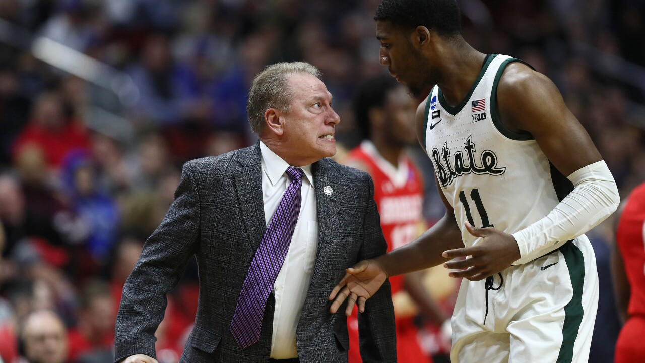 No. 2 Michigan State holds on to beat No. 15 Bradley in NCAA Tournament opener