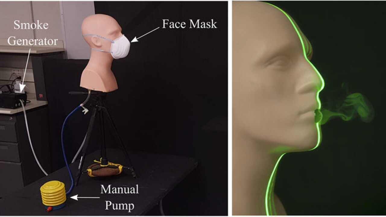 visualizing effectiveness of masks