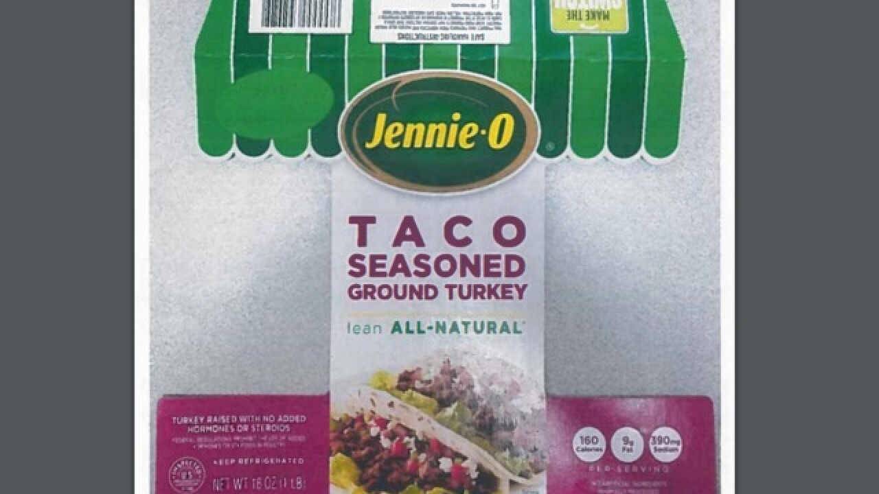 93,000 pounds of ground turkey recalled due to possible salmonella contamination