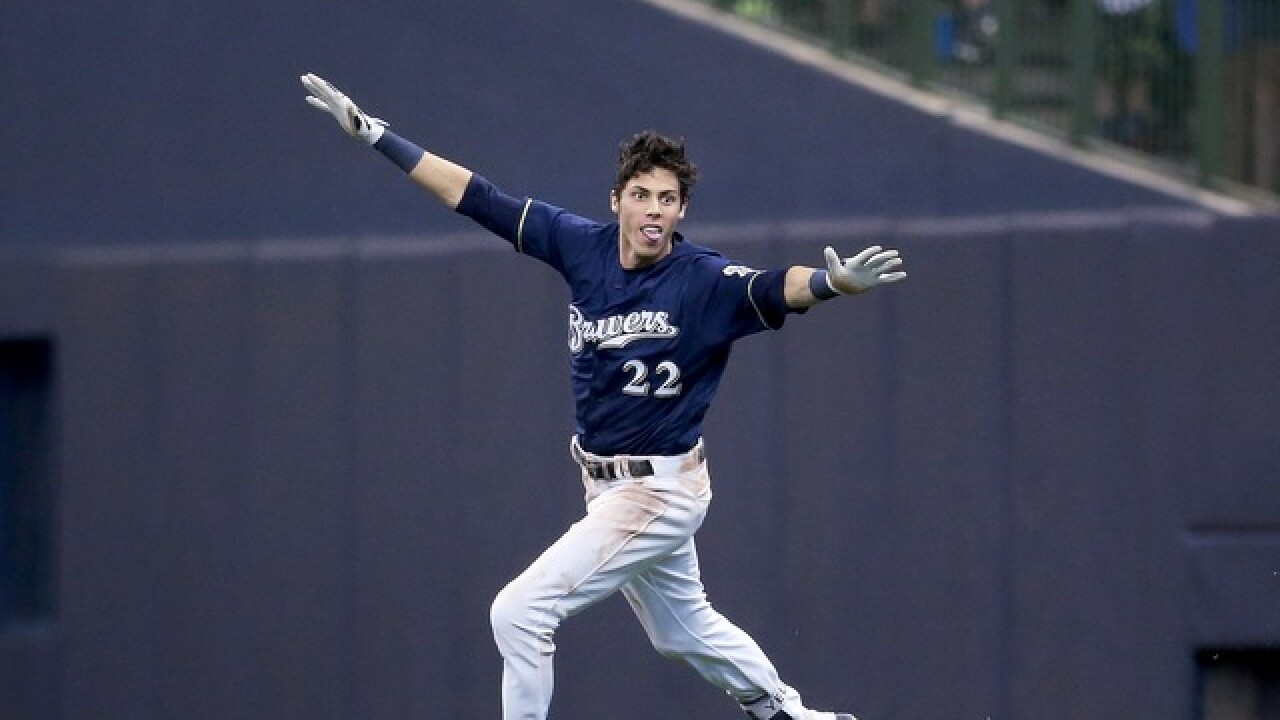MVP! MVP! MVP! Relive Christian Yelich's season [PHOTOS]