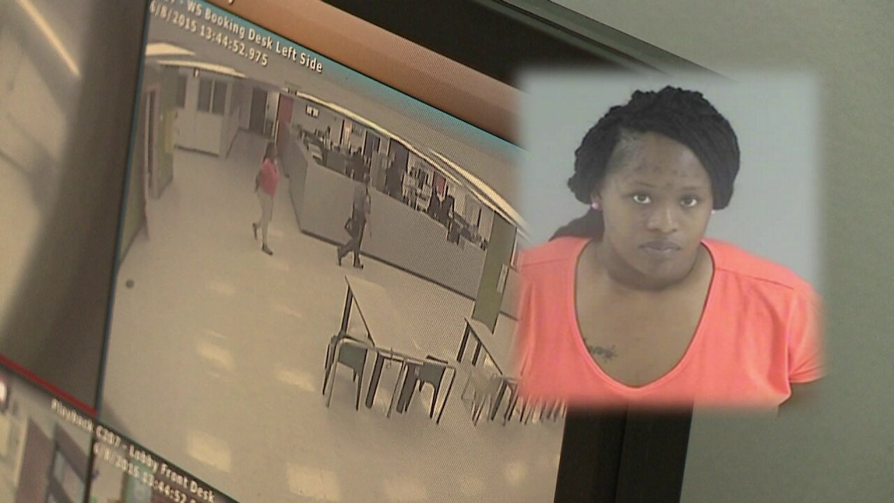 Henrico mom charged with leaving children in hot car while turning herself in to police