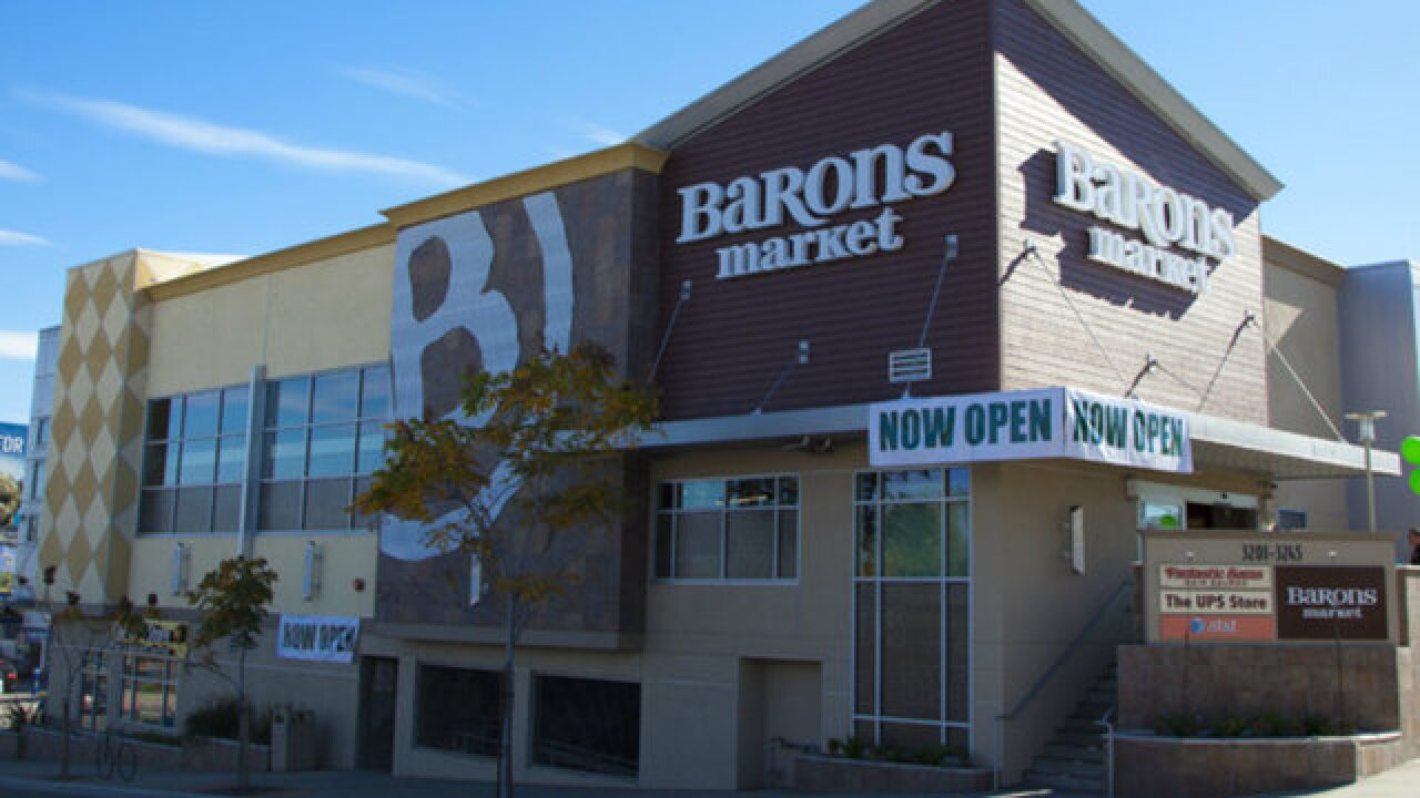 Barons Market grocery store coming to South Bay